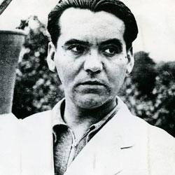 Fotografia de Federico García Lorca en Flores raras